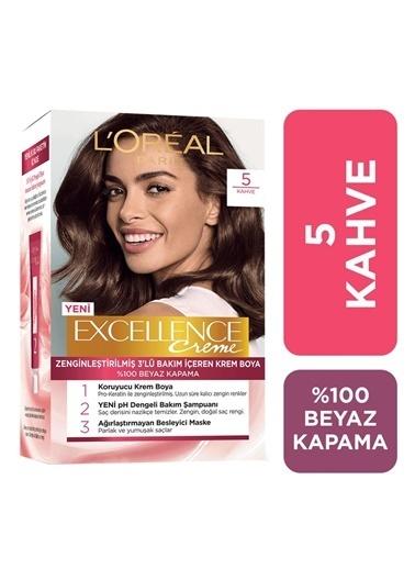 L'Oréal Loreal Excellence Creme Saç Boyası 5 Kahve Kahve